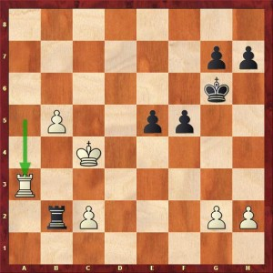 Sasi (Black) to play and reach the time control...