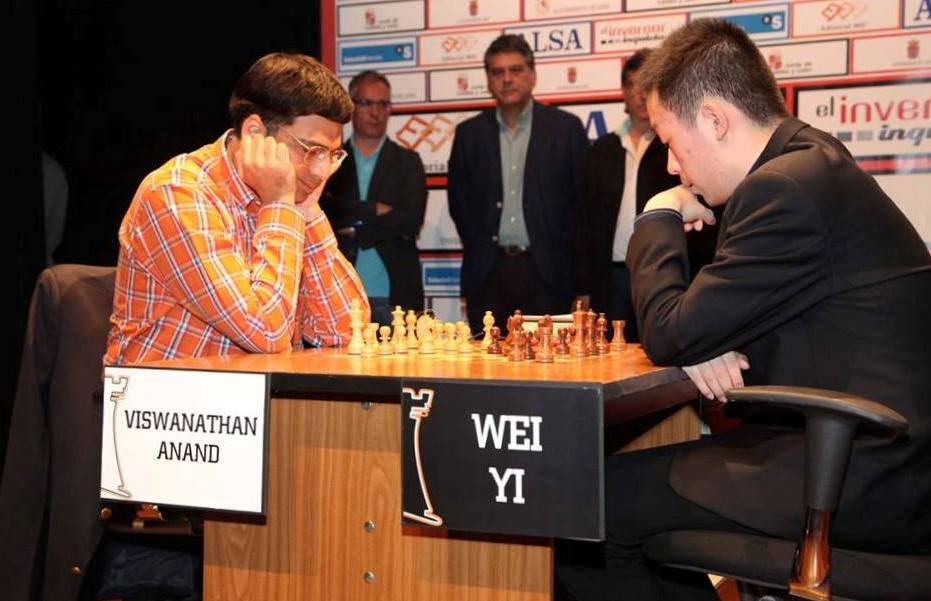 By beating Wei Yi 2.5-1.5 in the Finals, Anand racked up yet another victory at Leon. (Courtesy: www.advancedchessleon.com)