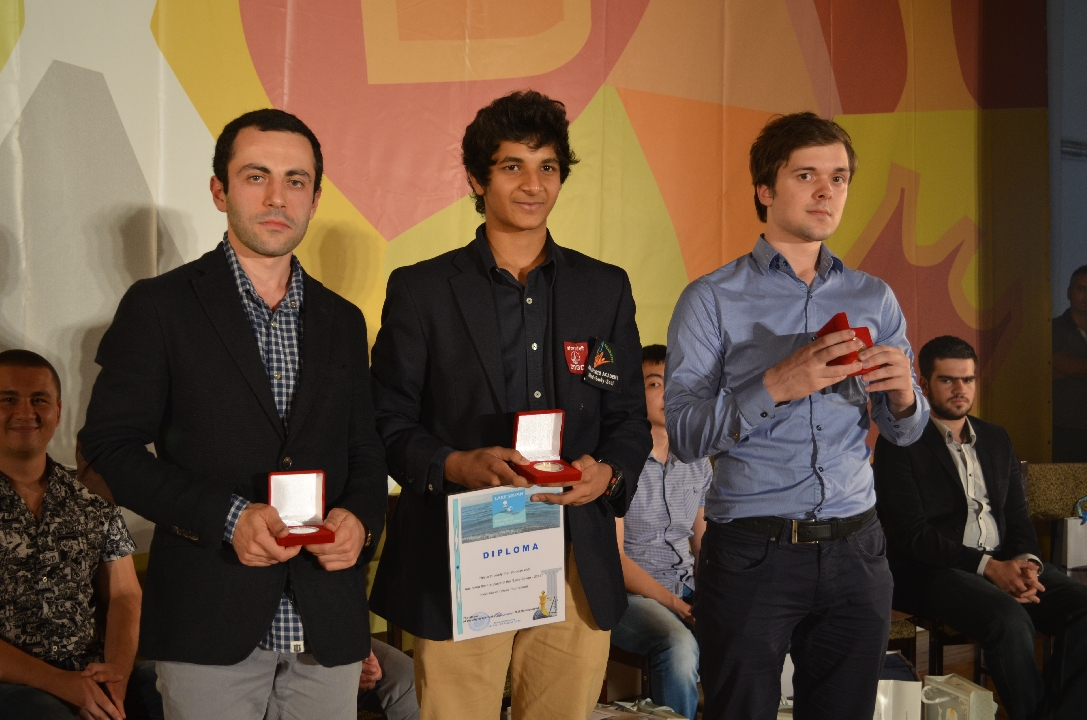 Vidit had triumphed at the 2014 edition of Lake Sevan in convincing fashion. (Source: sevan.chessacademy.am)