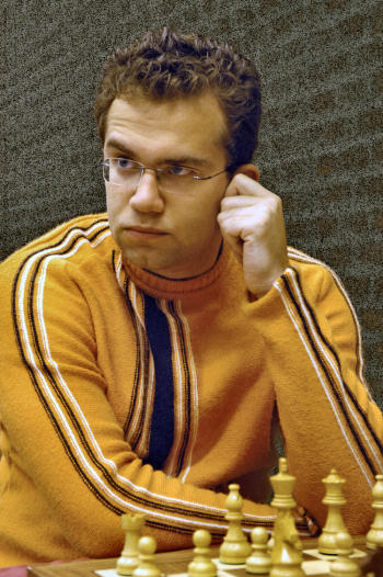 A young Eljanov at the Amsterdam Chess Tournament of 2005, where he emerged victorious. (Courtesy: Frits Agterdenbos via chessbase.com)